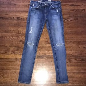 """AG super skinny """"the ankle"""" jean - size 26"""